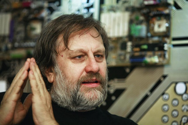 Photo of Slavoj Žižek