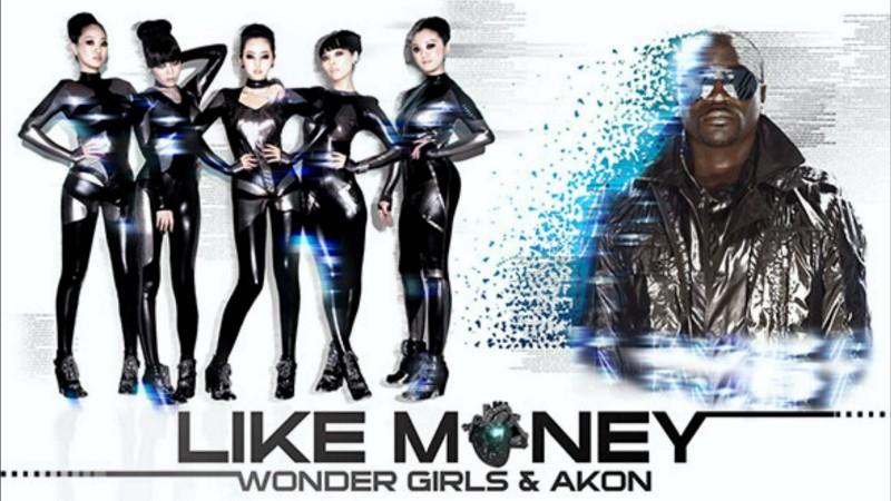 Image of Wonder Girls and Akon