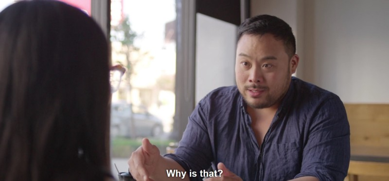 "David Chang in ""Ugly Delicious"""
