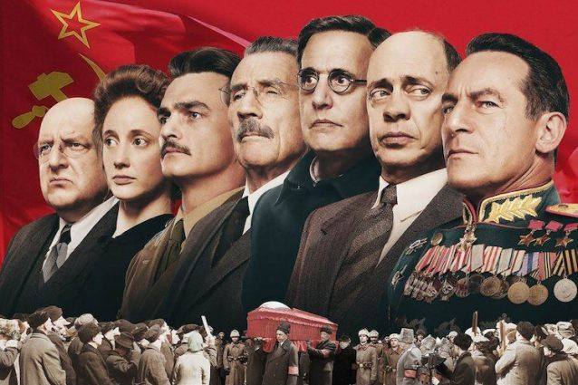 "Image of characters from ""The Death of Stalin"""