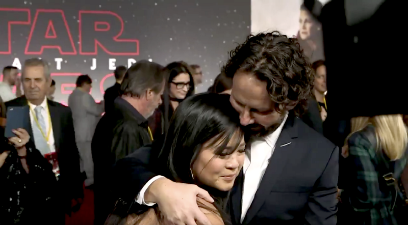 Photo of Kelly Marie Tran and Ram Bergman