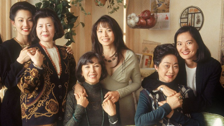 Promotion image for movie based on Amy Tan's Joy Luck Club