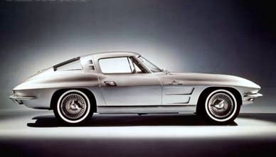 "Photo of 1963 Corvette ""Split Window"" Sting Ray"