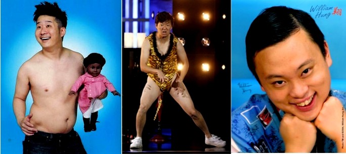 Photos of Bobby Lee, Ken Jeong, and William Hung