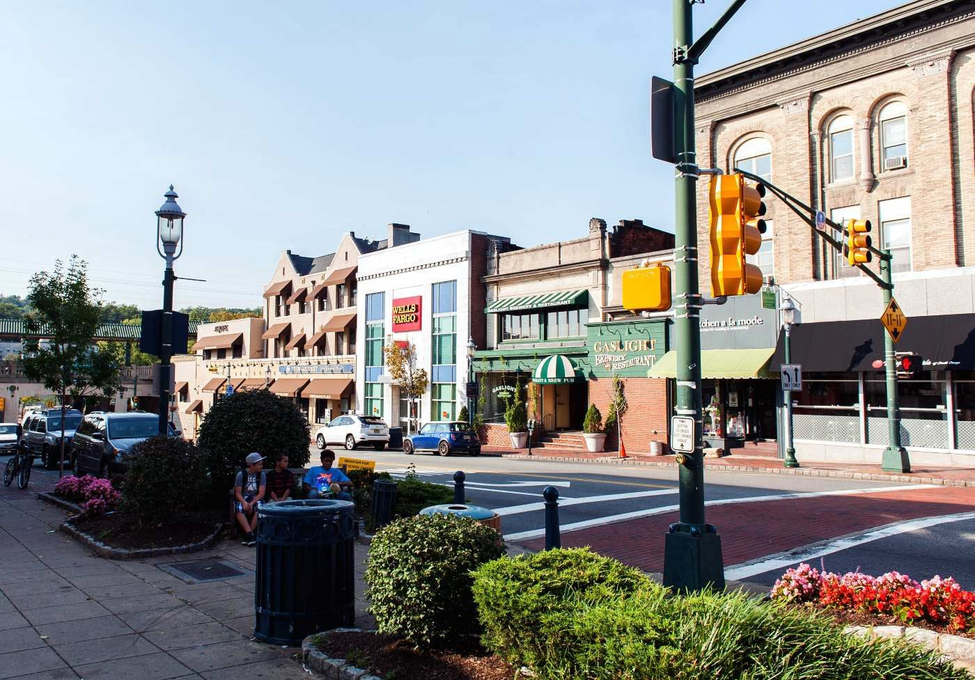 South Orange, New Jersey in the summer