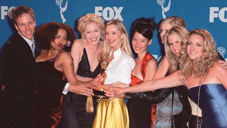 """Photo of the cast of """"Ally McBeal"""""""
