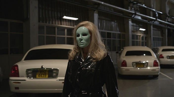 An image from the film Holy Motors