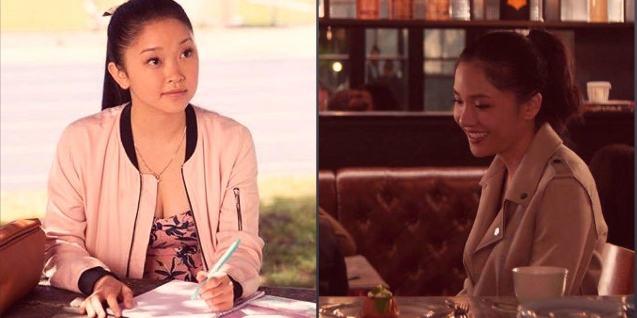 Lana Condor (To All The Boys I've Loved Before) and Constance Wu (Crazy Rich Asians)