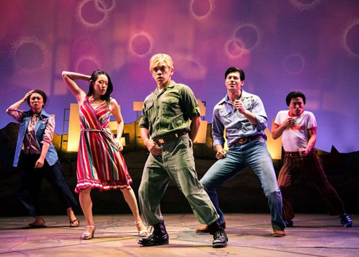 Vietgone hip hop dance number, Seattle Repertory Theater
