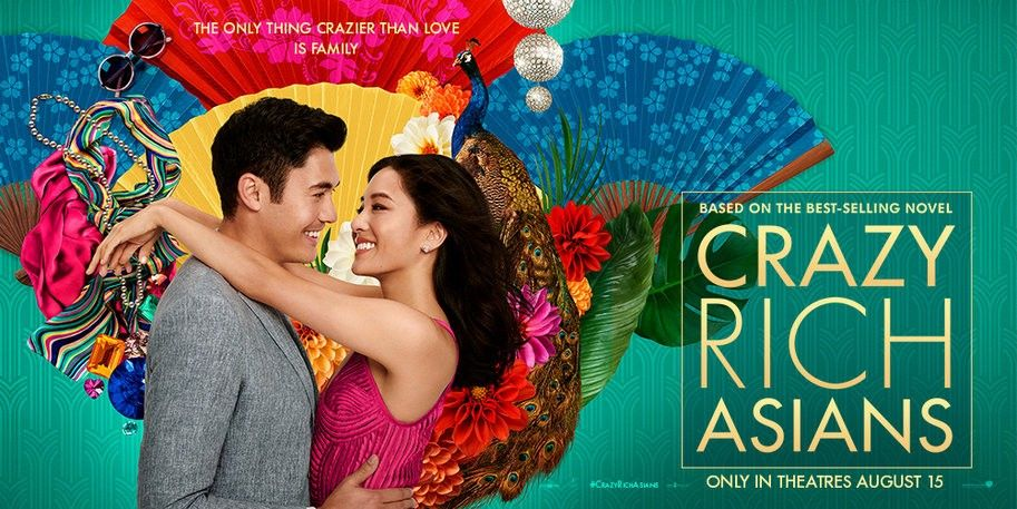"Promotional image for ""Crazy Rich Asians"""