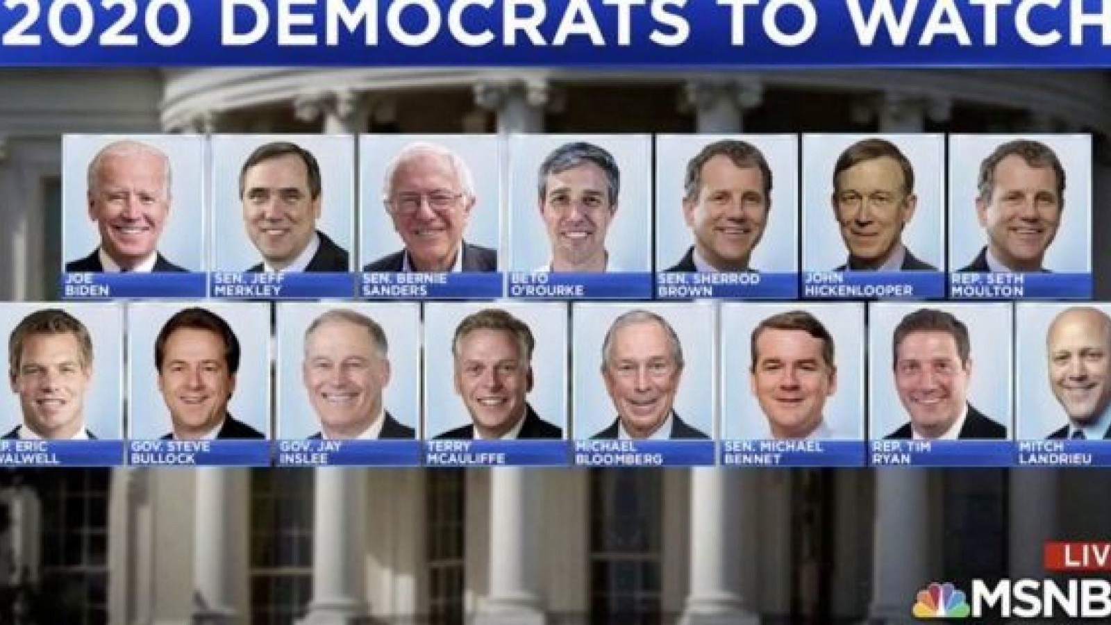 Image of a bunch of white men, many who haven't even declared their candidacy