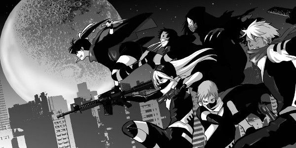 "Promotional image from ""Shinobigami"" - Modern Ninja Battle Tabletop RPG from Japan"