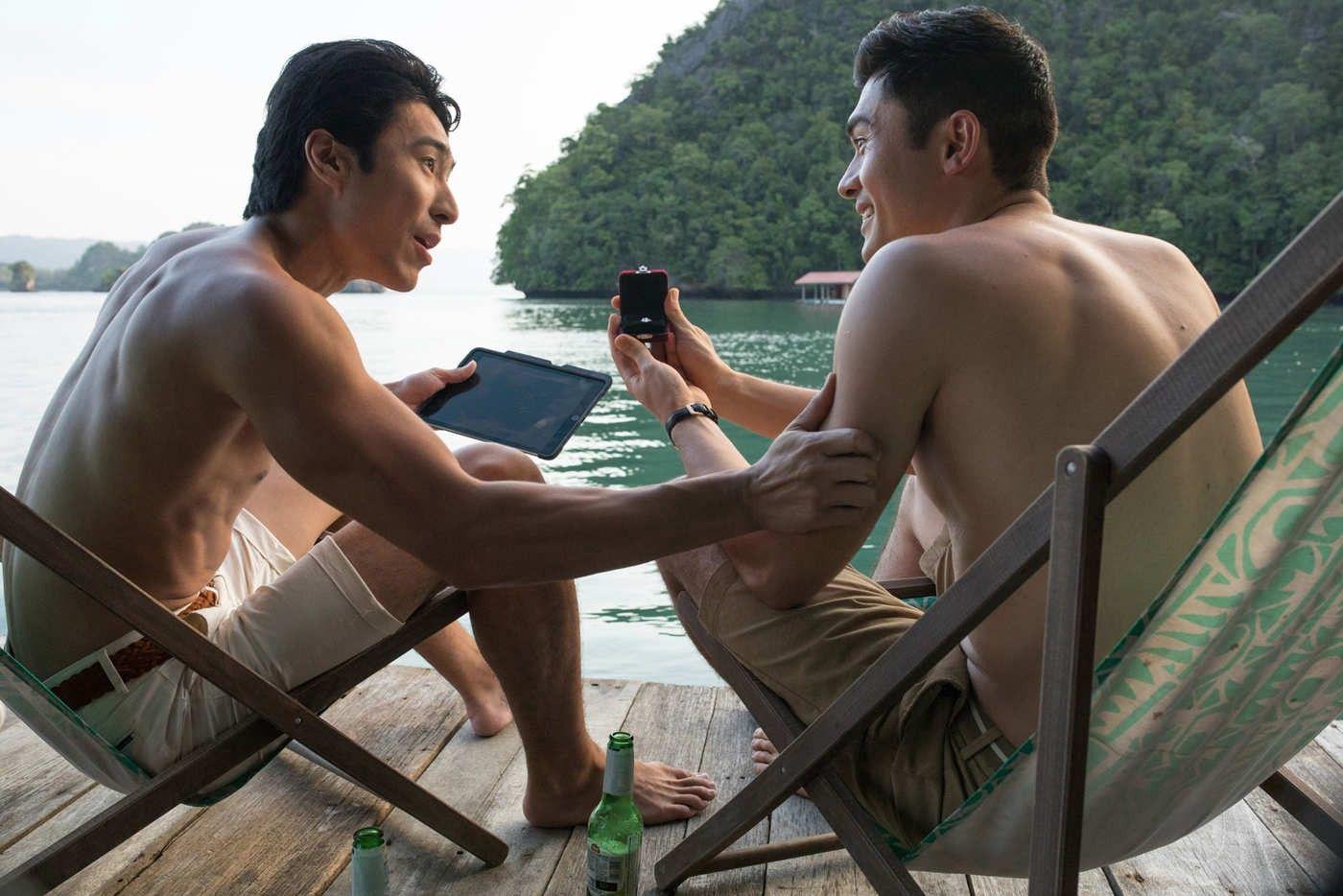 """Screenshot of """"Crazy Rich Asians"""""""