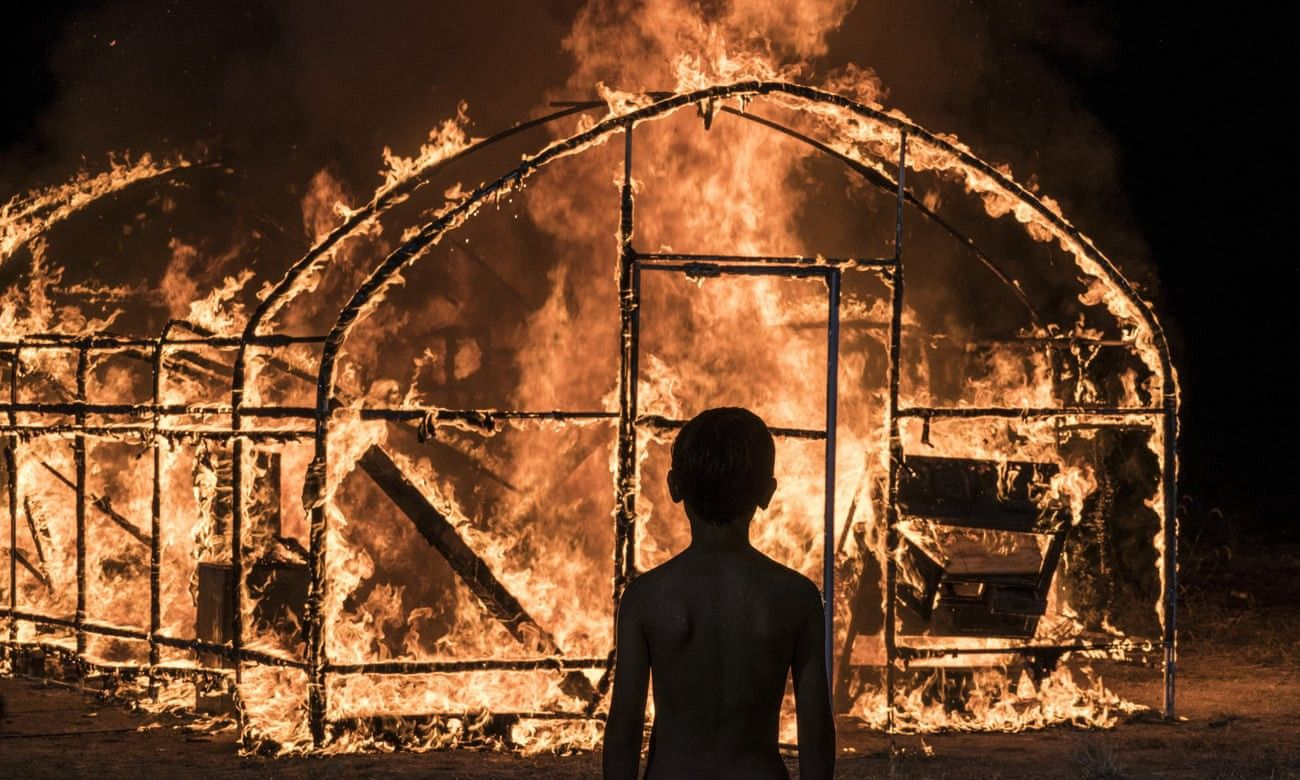 An image from the film Burning