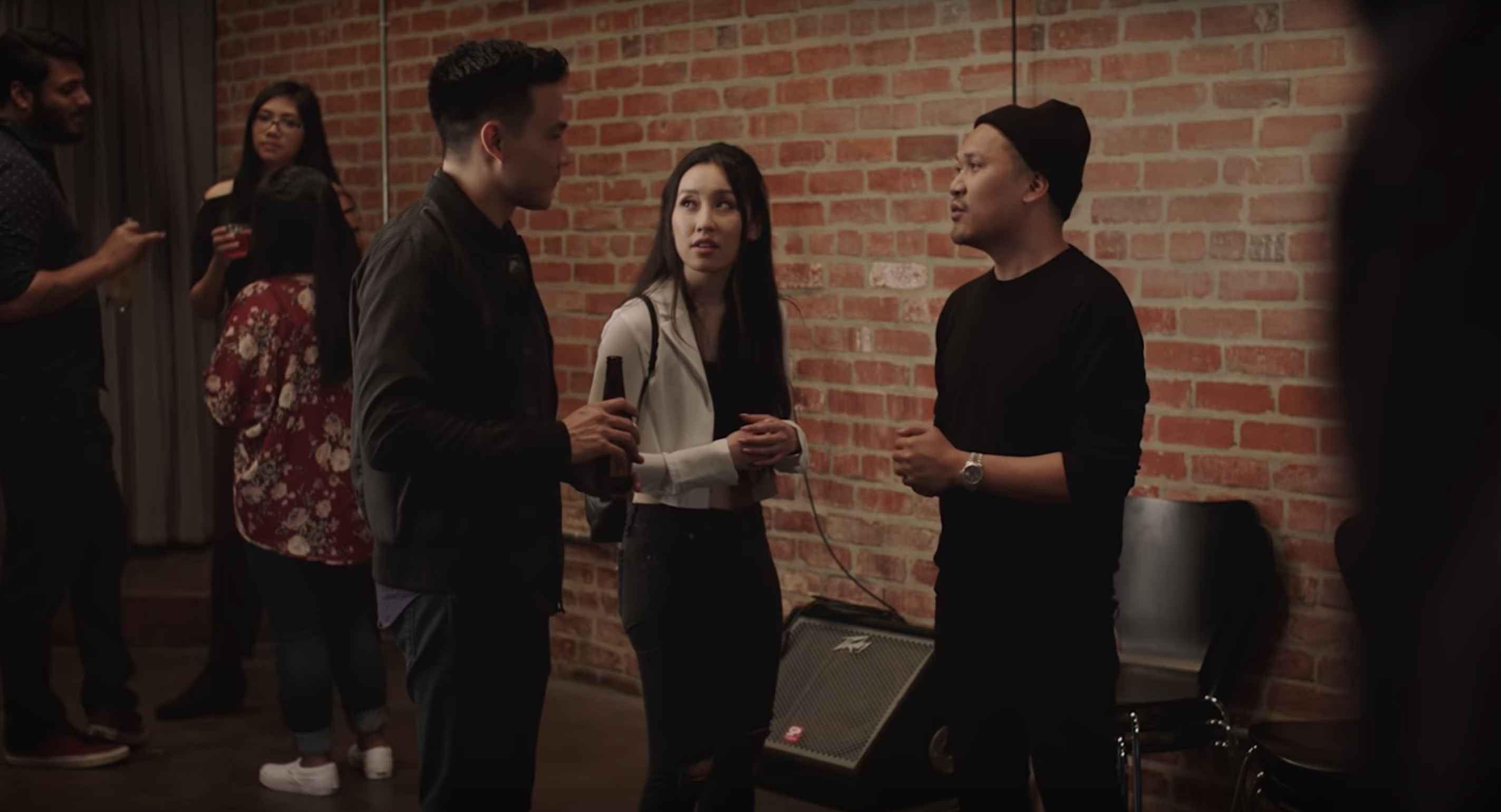 "Screenshot of Phil Wang in ""Yappie"" by Wong Fu Productions"
