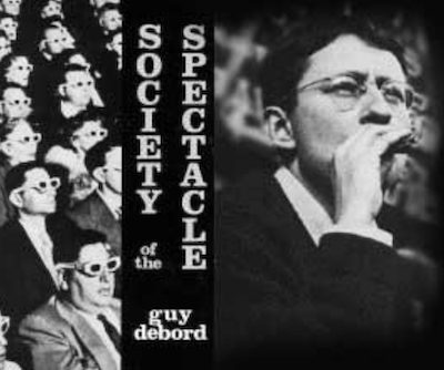 "The book cover of Guy Debord's ""Society of the Spectacle"""