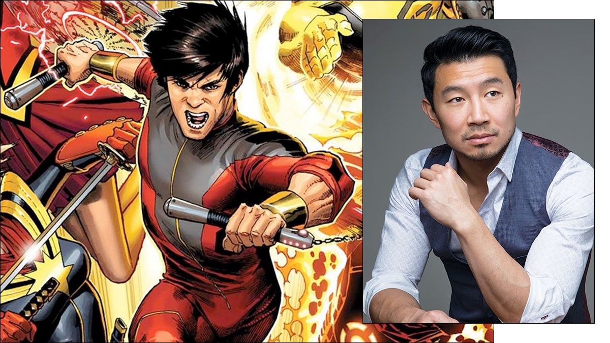 Simu Liu, the new Shang Chi