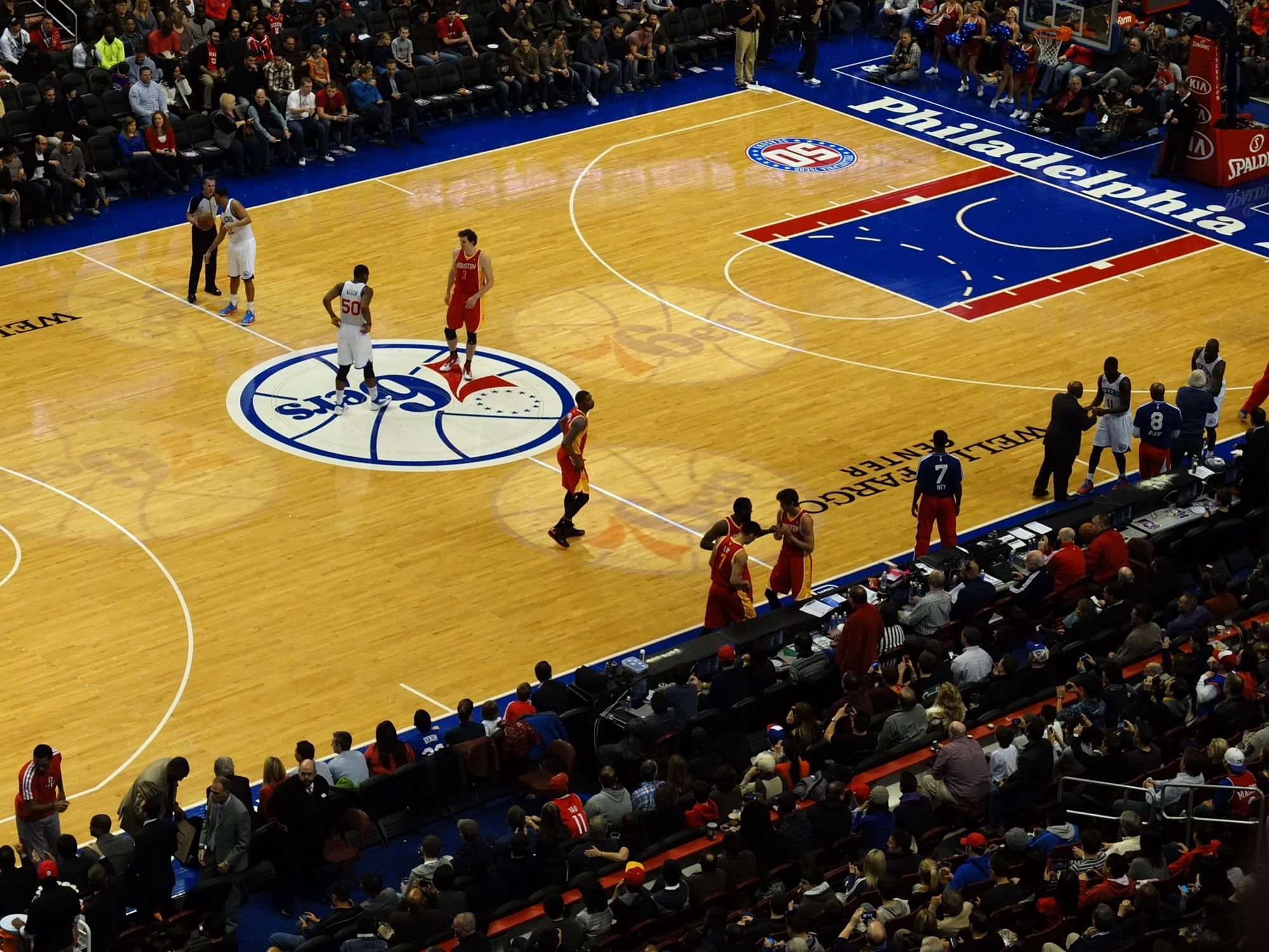 Photo of Houston Rockets at Philadelphia 76ers