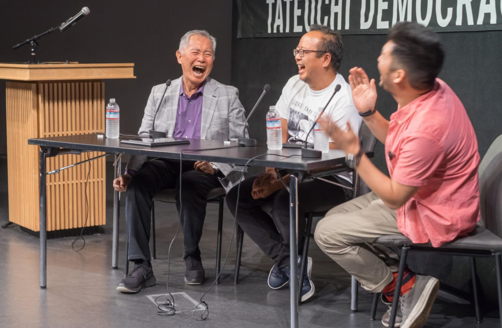 Picture of George Takei, Jeff Yang, and Angry Asian Man (Phil Yu)