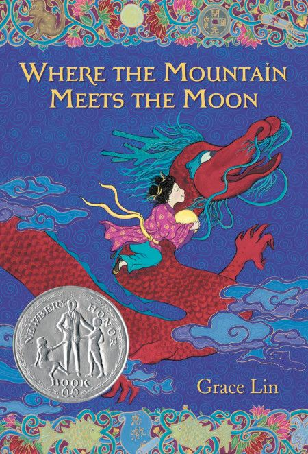 "Cover of ""Where the Mountain Meets the Moon"" by Grace Lim"