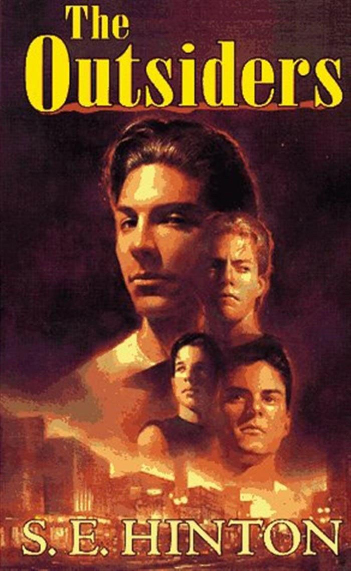 "Cover of ""The Outsiders"" by S.E. Hinton"