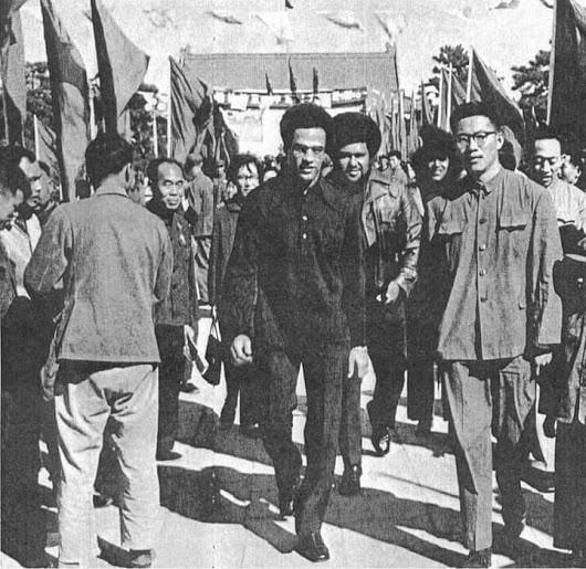 Image of Huey P. Newton in China