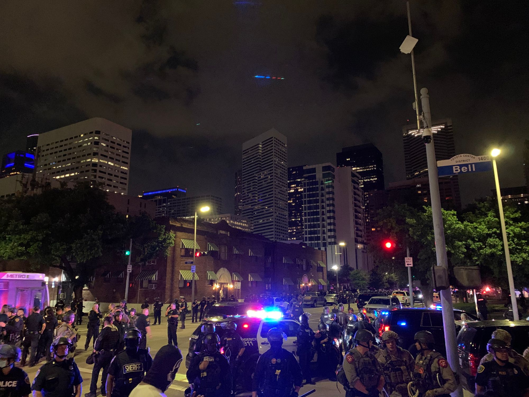 planamag.com: Protest Report: Arrested by the Houston Police Department